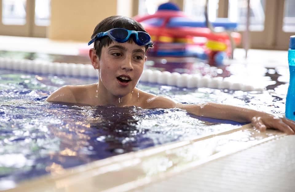 Cranleigh schoolboy swims 1 mile for Neuroblastoma UK