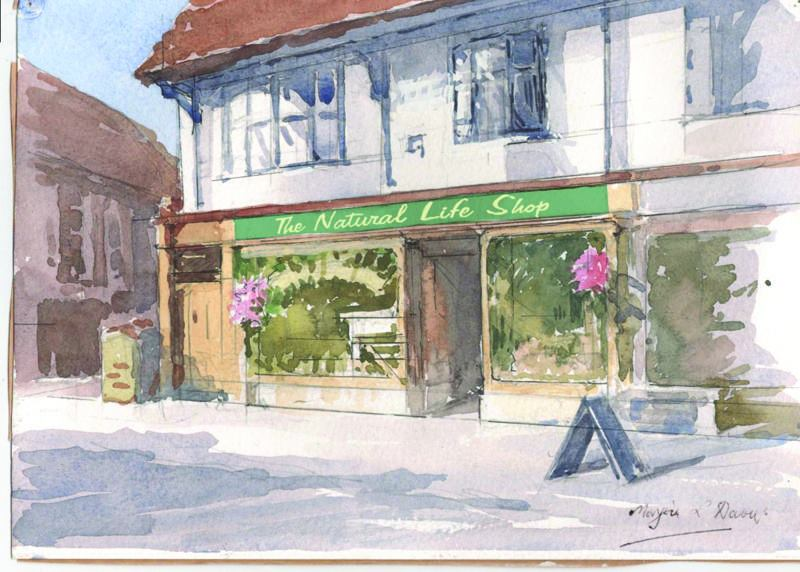The Natural Life Shop in Cranleigh