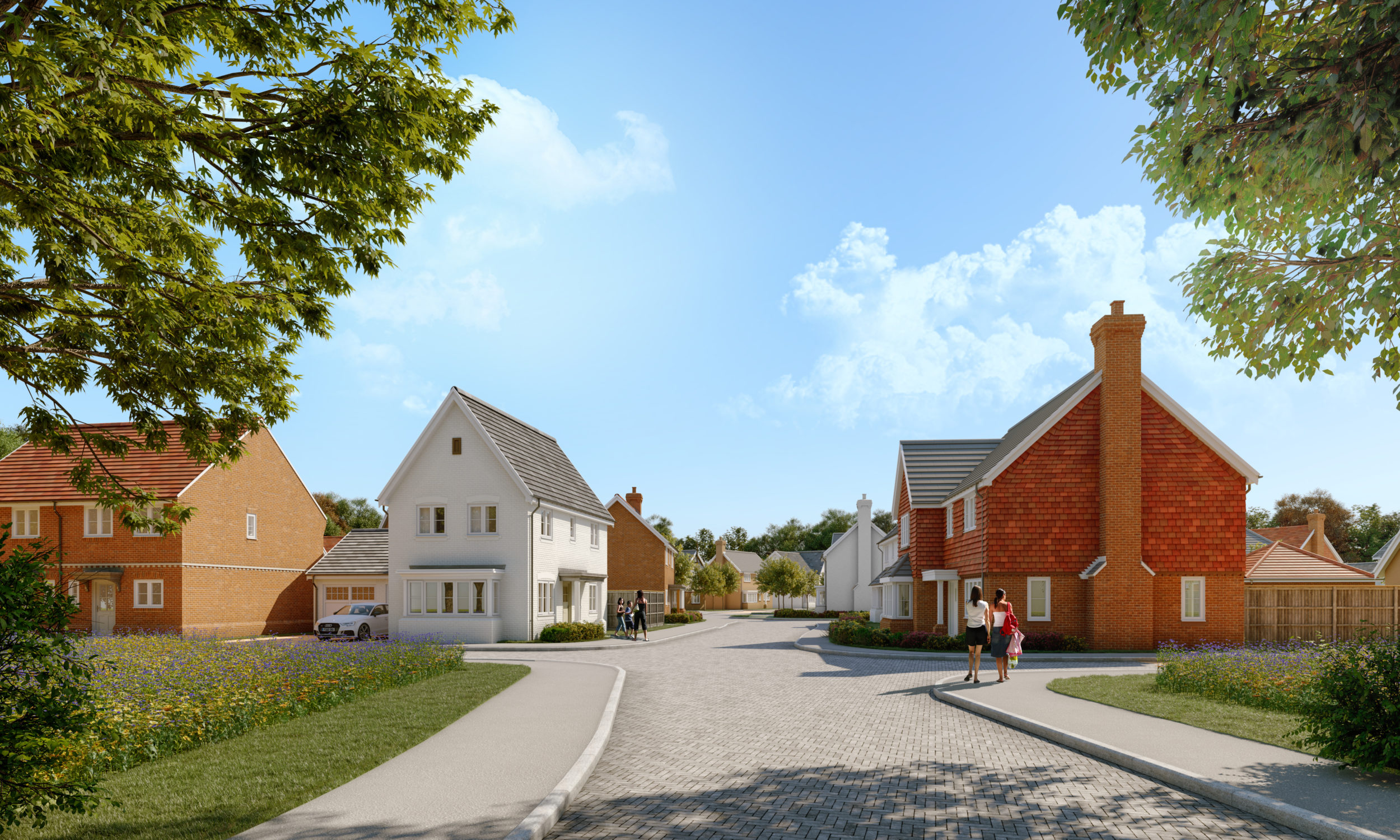 Homes handed over to Cranleigh's newest residents