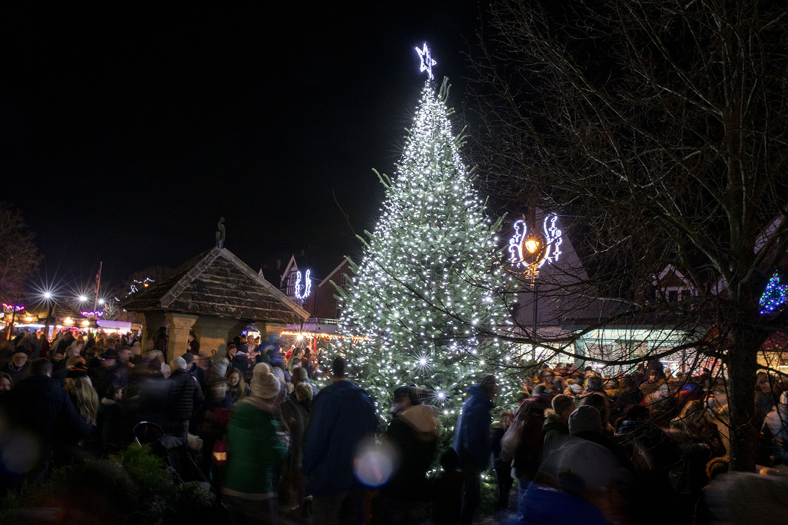 Cranleigh lights up for Christmas