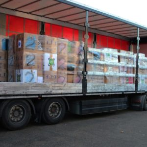 Cranleigh donates nearly 1,000 shoeboxes for Romanian Children appeal