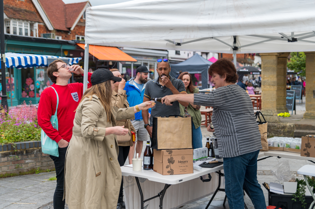 Cranleigh's Surrey Hills Artisan Market (August 2021)
