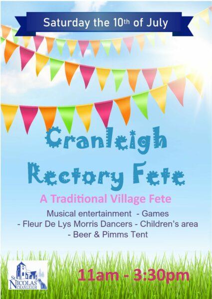 Cranleigh Rectory Fete