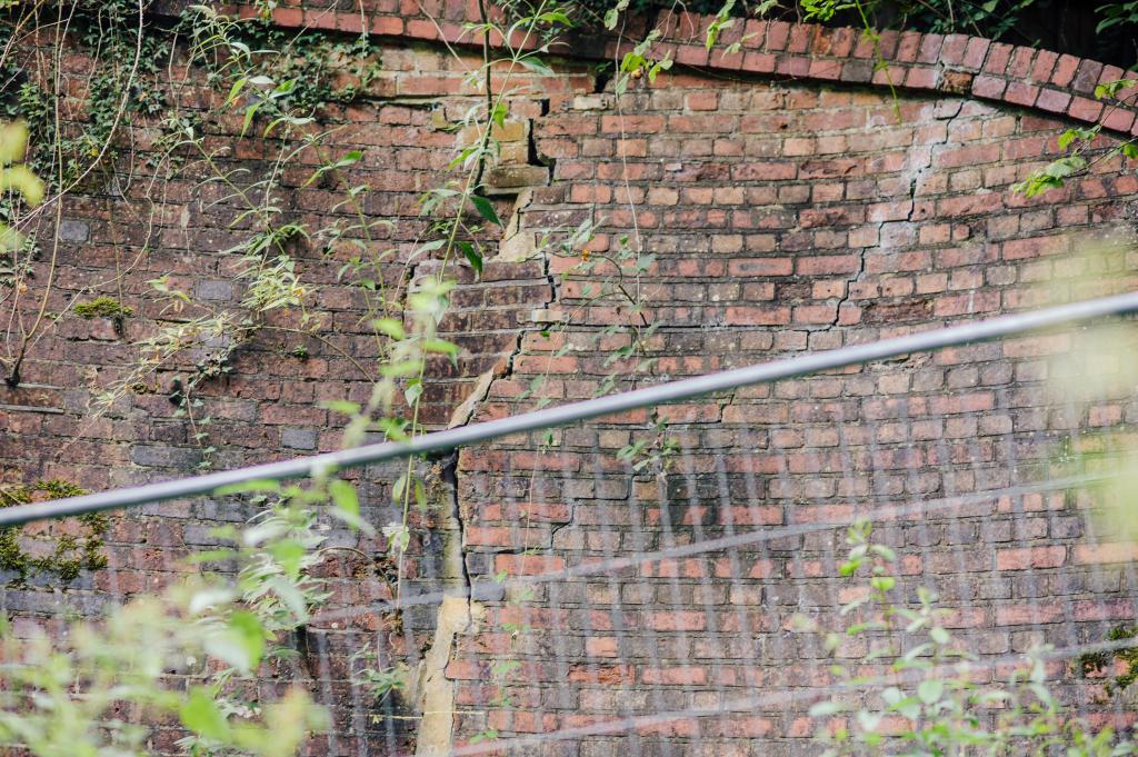 Elmbridge Road Downs Link Bridge Cracks