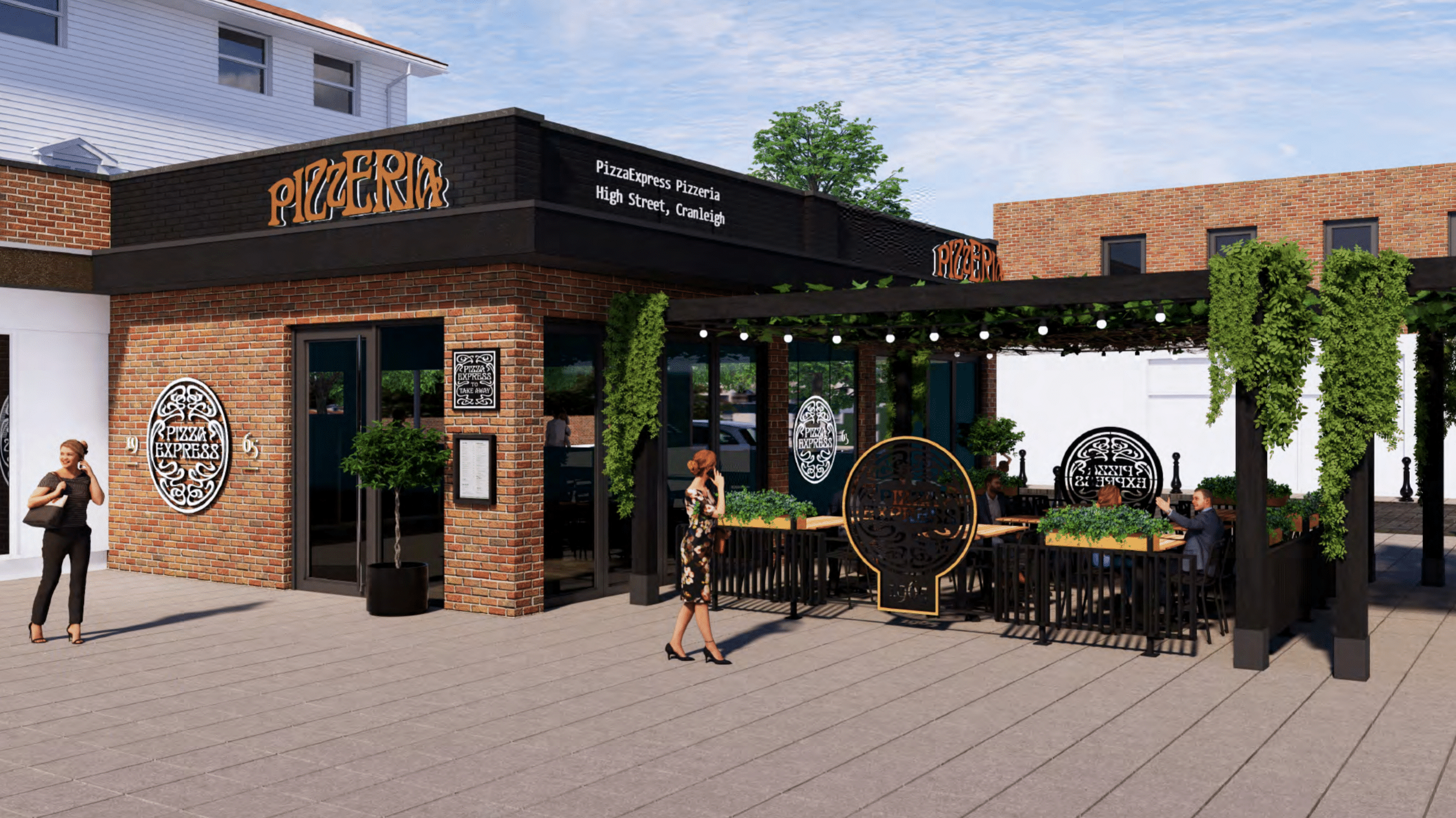 Pizza Express plans its return to Cranleigh
